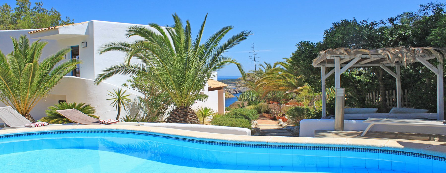 seaview, holiday villa, es cubells