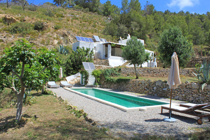 eco finca with large swimming pool