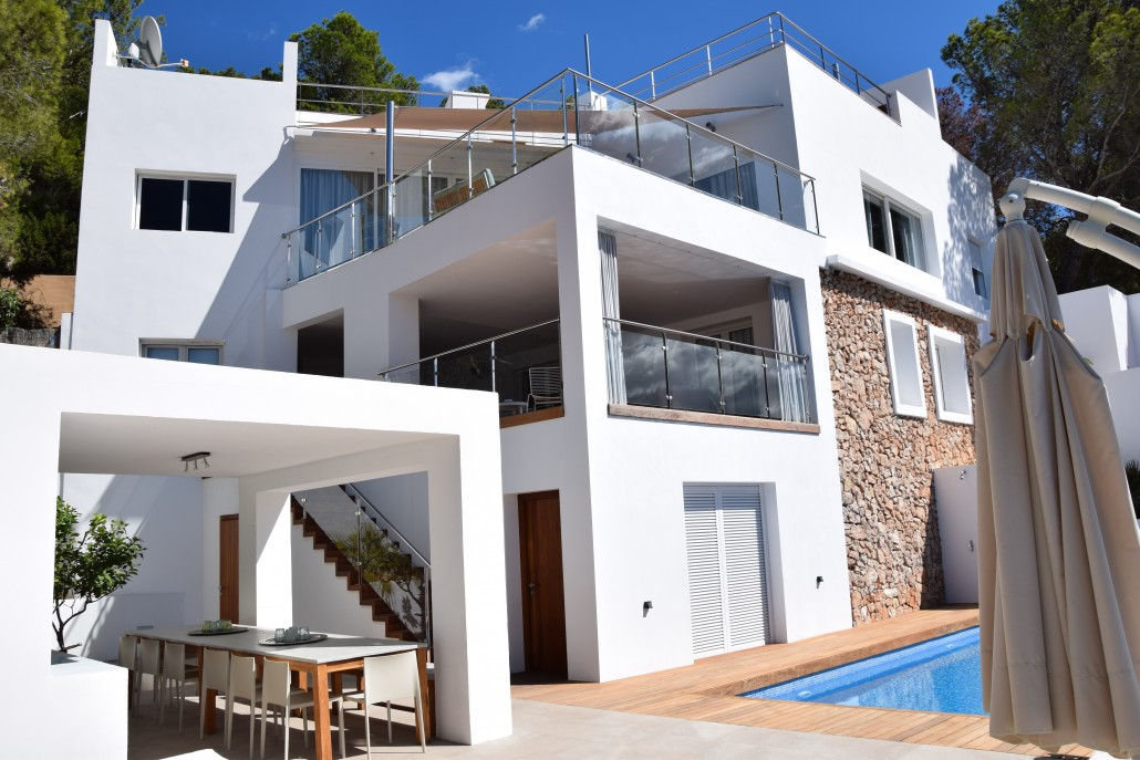 Villa Cala Salada for 12 pax with stunning seaviews