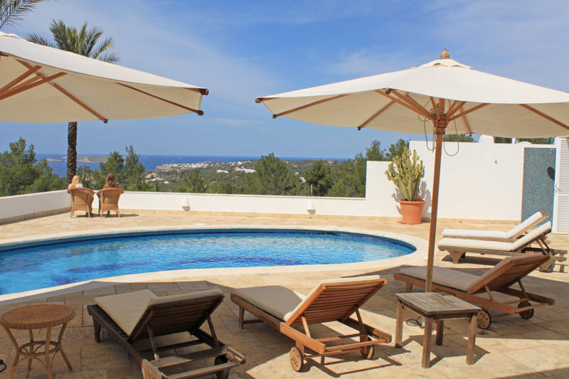 villa san josep with sea view