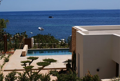 seaview, walking distance from sea, es niu blau